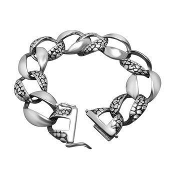 Awesome Stylish Shiny Great Deal Gift New Arrival Hot Sale Accessory Strong Character Vintage Fashion Titanium Bracelet [6542700803]