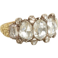 Olivia Collings Antique Jewelry Rose Cut Diamond Ring at Barneys.com