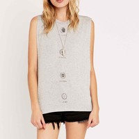 Truly Madly Deeply Universe Moons Tank Top - Urban Outfitters
