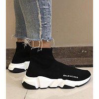 Balenciaga Sock Boots Woman Men Fashion Breathable Sneakers Running Shoes