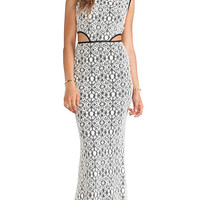 Boulee Max Maxi Dress in Ivory