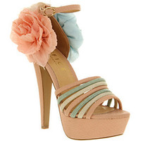 Office KISS CHASE PASTEL MIX SYN Shoes - Womens High Heels Shoes - Office Shoes