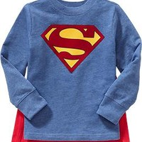 "DC Comics™ Superhero ""Cape"" Tees for Baby"