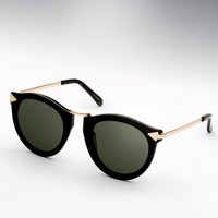 Karen Walker Harvest Sunglasses - Black