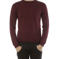 Fendi Red Round Neck Shirt