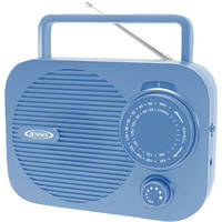 Jensen Portable Am And Fm Radio (blue)