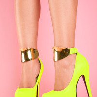 Stiletto Goddess – Neon Yellow