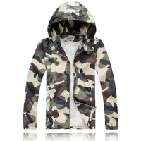 Hats Men's Fashion Summer Tops Casual Camouflage Jacket [6543996163]