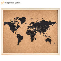 Framed World Map Corkboard | Hobby Lobby | 1471754