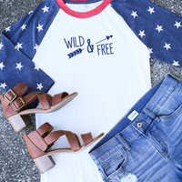 Wild & Free Baseball Tee | Imperishable