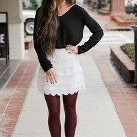 Ups and Downs Skirt