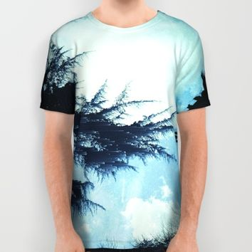 In the Wind All Over Print Shirt by Ducky B