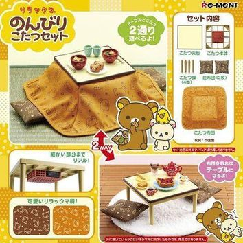 San-x Rilakkuma Leisurely Kotatsu Set From Japan