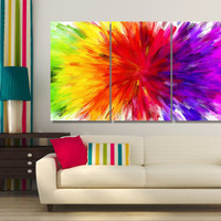 High Quality Large Colorful Photo Canvas Print - Framed Wall Art -  Hand Made in Europe for Home and Office_LC001