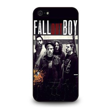 fall out boy personil iphone 5 5s se case cover  number 1