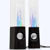 Black Dancing Water Speaker