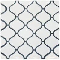 Merola Tile, Metro Lantern Glossy White 9-3/4 in. x 10-1/4 in. x 6 mm Porcelain Mosaic Floor and Wall Tile, FDXMLGW at The Home Depot - Tablet