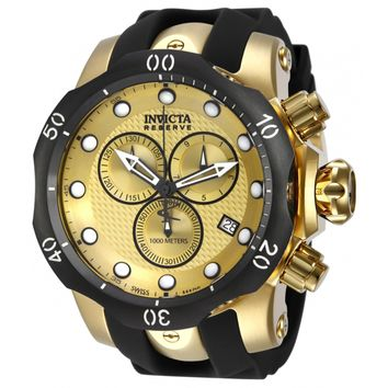 Invicta Men's 16150 Venom Quartz Chronograph Gold Dial Watch