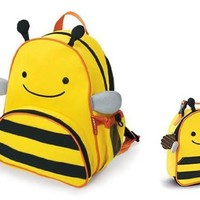 Skip Hop Zoo Lunchie Insulated Lunch Bag, Bee