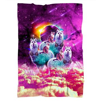 Llamacorn Cat Blanket