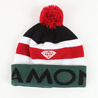 Diamond Supply Co Brilliant Stripe Beanie at PacSun.com