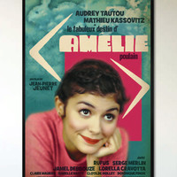 Amelie - Retro Alternative Movie Poster - 1950's - 1960's