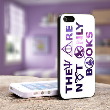 Divergent Hunger Game Harry Botter Book Quotes - iPhone 4, 4S iPhone 5, 5S 5C, Samsung Galaxy S3,S3 mini, S4, S4 mini and iPod 4, 5 Case