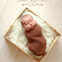 Off White Mongolian Faux Fur Photography Prop Newborn Baby Toddler Soft Blanket Rug Nest Photo Prop Backdrop 20inx13in.