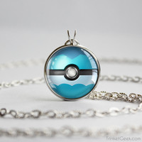 Pkmn Eeveelution Pokeball pendants