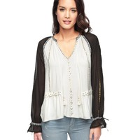 Angel Embellished Boho Knit Top by Juicy Couture,