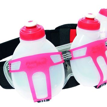 FuelBelt Ironman Collection R3O 3 Bottle Belt, Red/Black, One Size