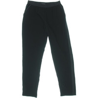 Sanctuary Womens City Track Pull On Satin Trim Casual Pants