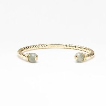 Rustic Cuff London- Jace and Gold