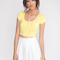 Cinna Skirt - White