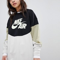Nike Colourblock Sweatshirt at asos.com