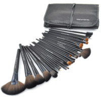 Jet Black Make Up Brush Set with Free Case – My Make-Up Brush Set