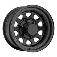 Jeep® Wheels - Pro Comp Tires & Wheels® - PCW 52-5865F - Pro Comp® Style 52 Rock Crawler Steel Wheel in Flat Black for 87-06 Jeep® Wrangler YJ & TJ and other Jeep Wrangler Parts, Jeep Accessories and Soft Tops by FORTEC