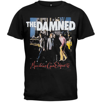 The Damned - Machine Gun Etiquette T-Shirt