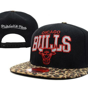 Chicago Bulls NBA 9FIFTY Hat M&N Black-Camouflage