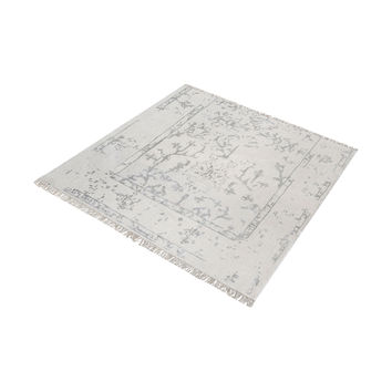 8905-326 Belleville Handknotted Wool And Bamboo Viscose Rug - 6-Inch Square