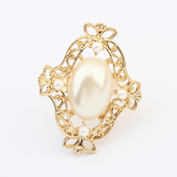 Jewelry New Arrival Shiny Gift Stylish Fashion Sweets Pearls Accessory Ring [4918800836]