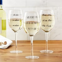 Wine Not? Wine Glasses