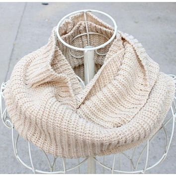 Hot 120*30cm Yarn Knitting Ring Scarf Men Women Circular Warm Scarves Male Female Wraps Capes Knitted Scarfs Black khaki white