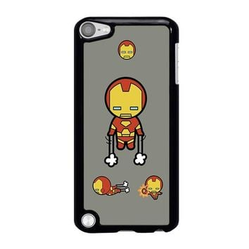 IRON MAN KAWAII Marvel Avengers iPod Touch 5 Case Cover