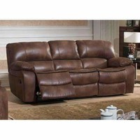Leighton Transitional  Reclining Sofa