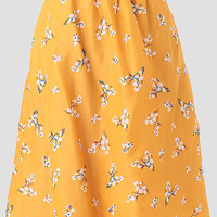 Daisy Dreaming Indie Floral Skirt