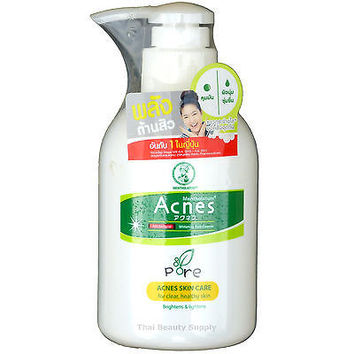 Mentholatum Acnes Anti Acne Antibacterial Whitening Facial Cleanser 150ml 5.1oz