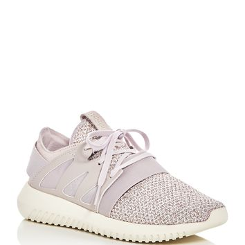 AdidasWomen's Tubular Viral Knit Lace Up Sneakers