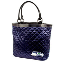 Seattle Seahawks NFL Quilted Tote (Navy)