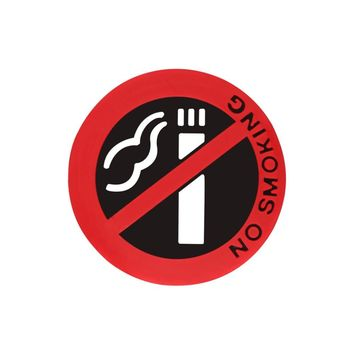 No Smoking Sign Car Sticker Motorcycle Decorative Stickers Car Window Decals